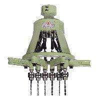Multiple Spindle Drilling & Tapping Heads with Universal Joint Driven